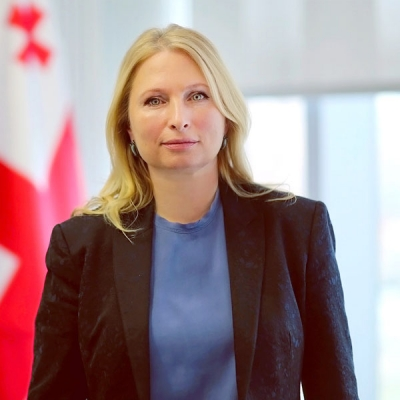 Georgia is a natural hub  connecting east and west,   Natia Turnava