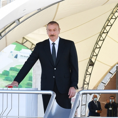 Ilham Aliyev: Azerbaijan is shifting to renewable energy