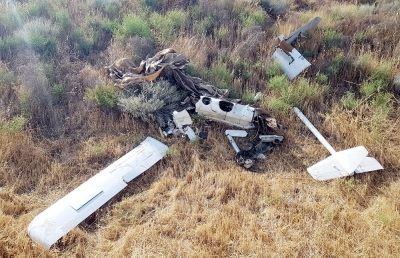 The tactical UAV belonging to Armenia was destroyed
