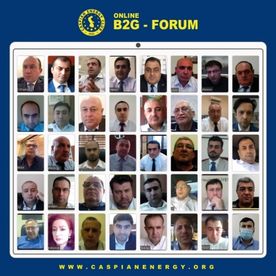 Caspian European Club conducts online B2G forum with participation of Rashad Orujov and Ziya Aliyev