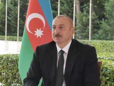 President of Azerbaijan Ilham Aliyev announces new achievements of victorious Azerbaijani army on his Twitter page