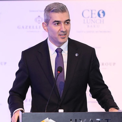 Vusal Huseynov becomes honorable guest of CEO Lunch Baku