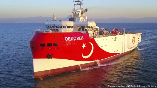 Turkish Navy: 'Oruc Reis' will continue exploration in the Eastern Mediterranean