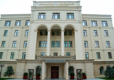 Defense Ministry of Azerbaijan reports escalation on the line of contact in Karabakh